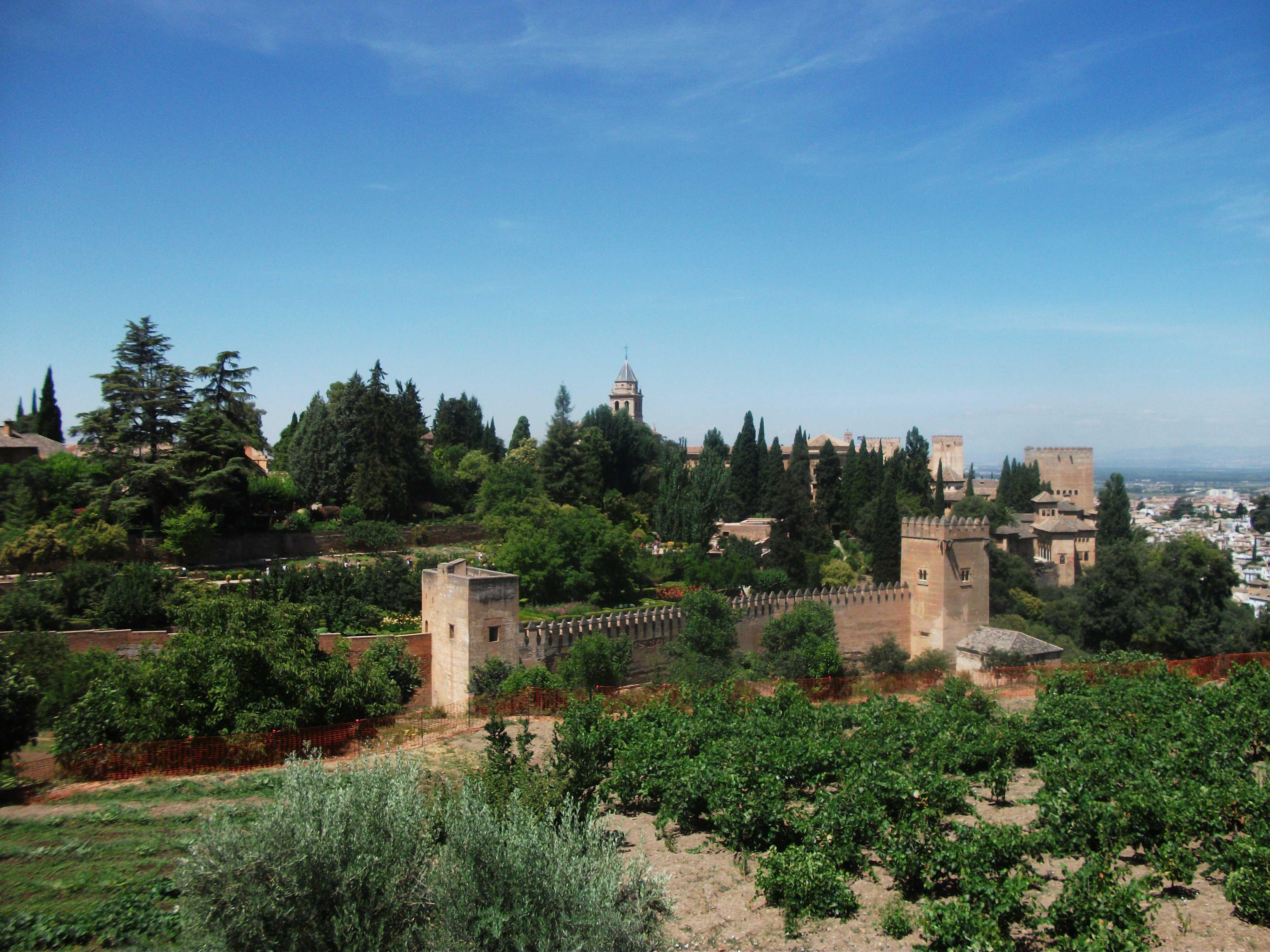 Alhambra Spanje