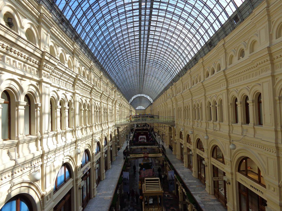 GUM Moskou Rusland