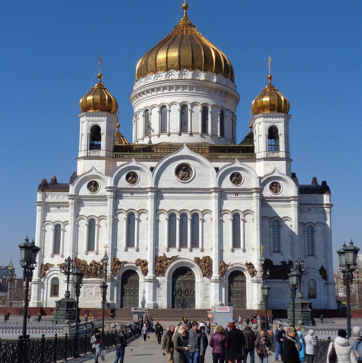 Moskou Kerk Christus Verlosser