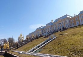 Sint-Petersburg: het zomerpaleis Peterhof
