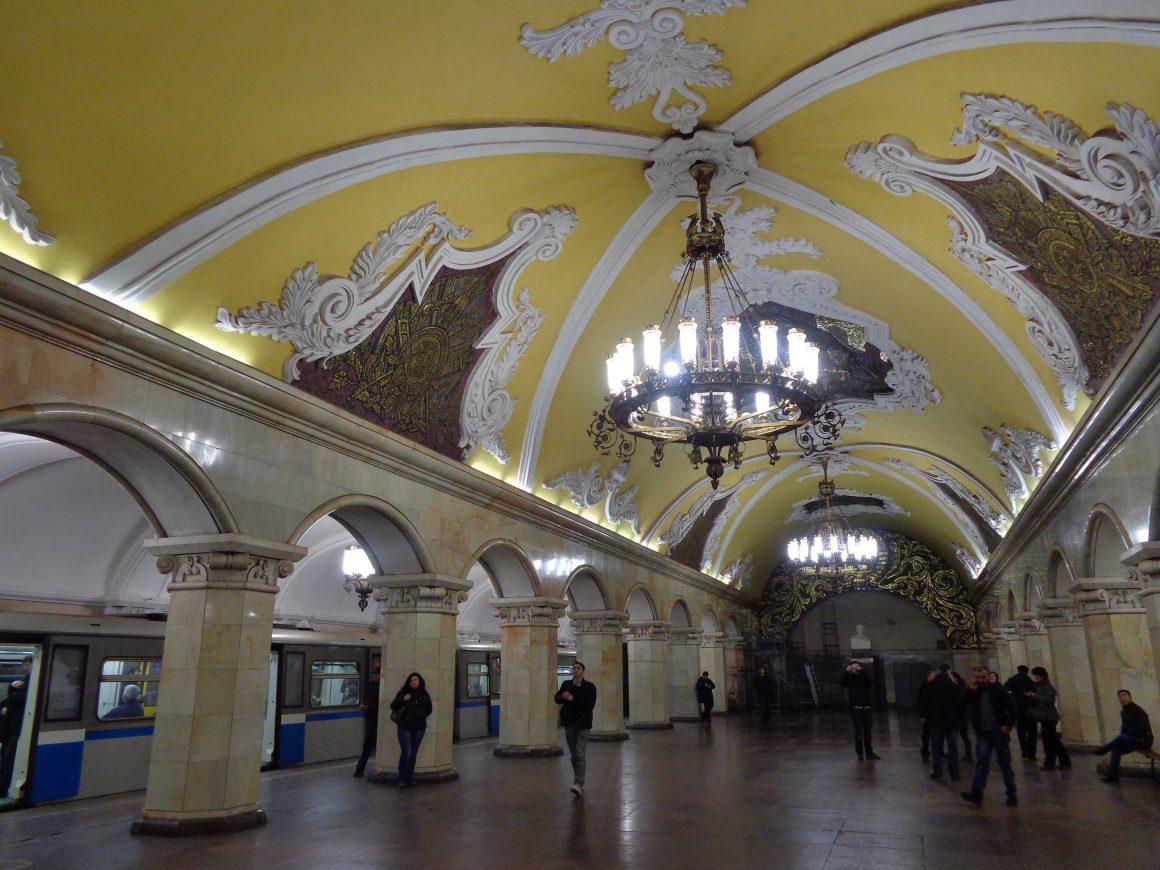 Metro Moskou Rusland