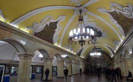 Moskou en haar ondergrondse paleizen