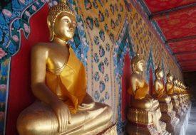 Bangkok: buddhas and stupas