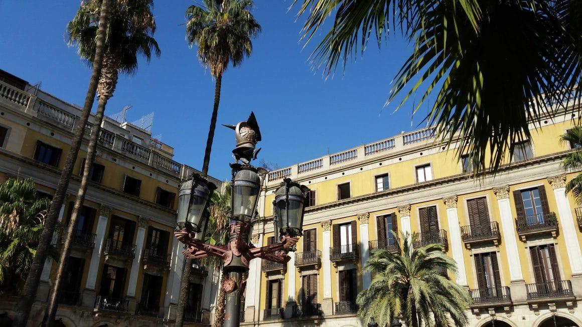 Barcelona Spanje Placa de Reial