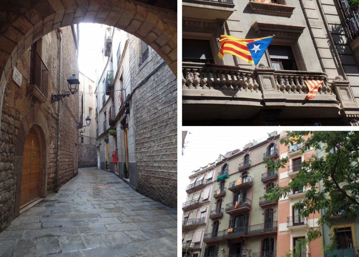 Barcelona Spanje Bario Gotic