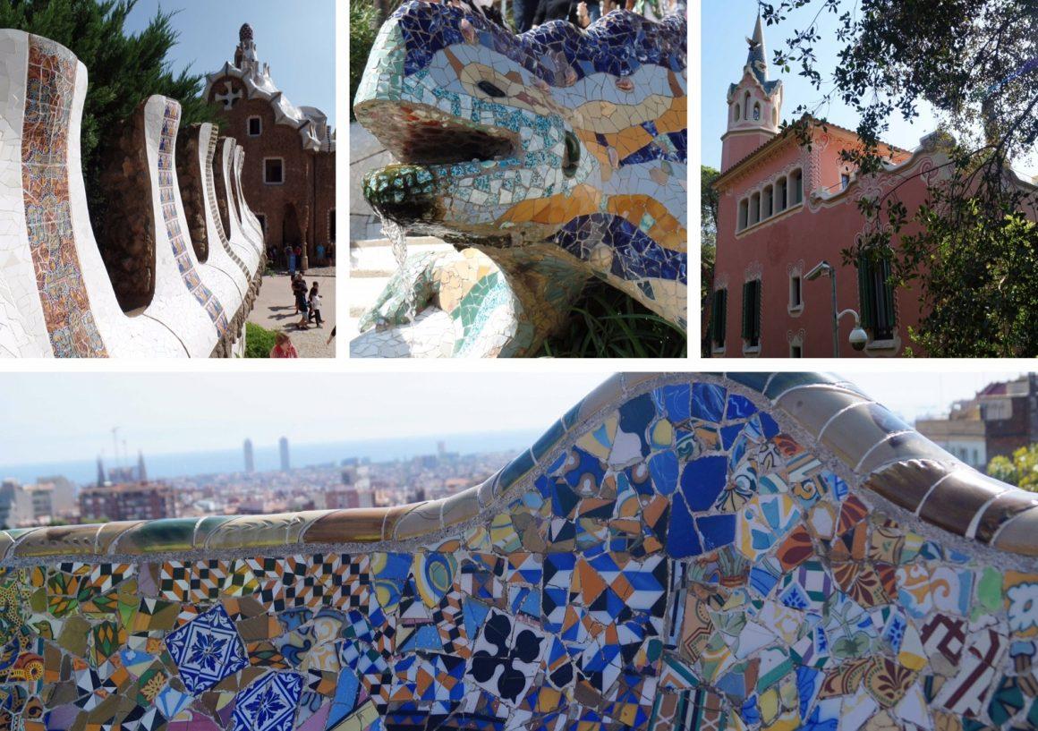 Barcelona Spanje parc guell