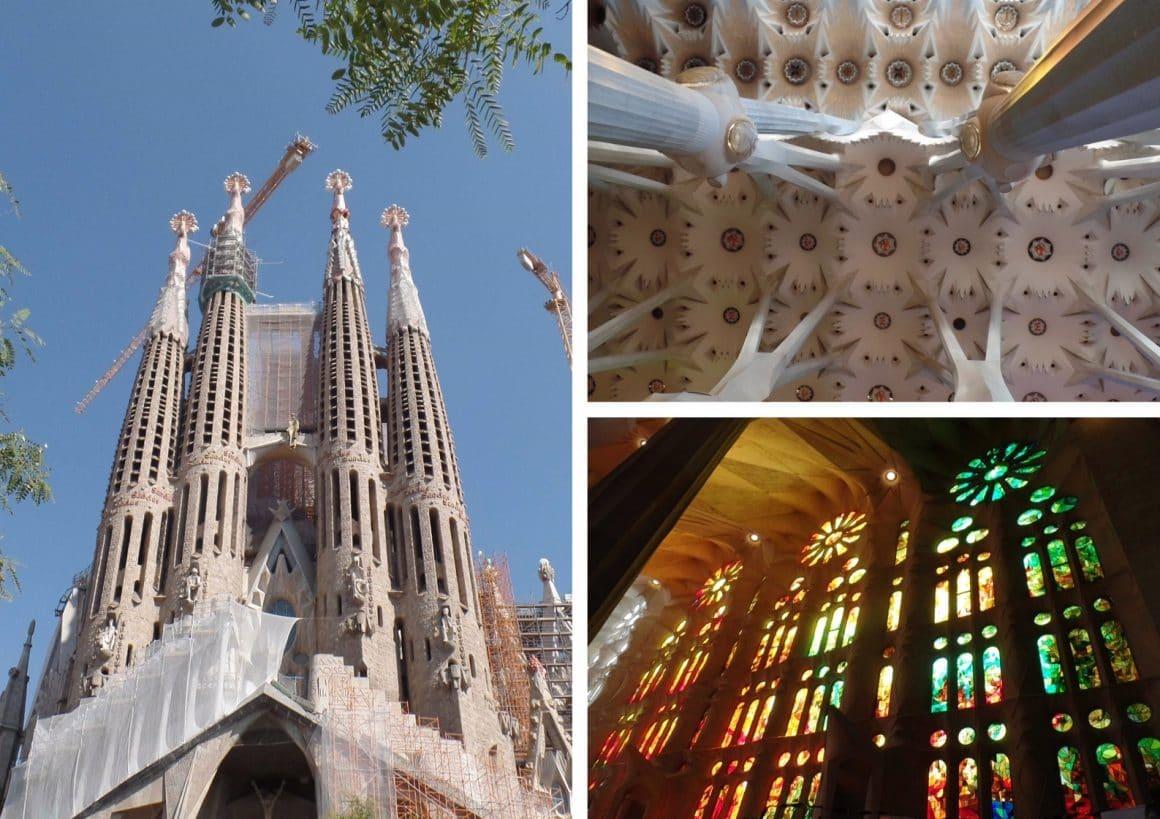 Barcelona Spanje Sagrada Familia