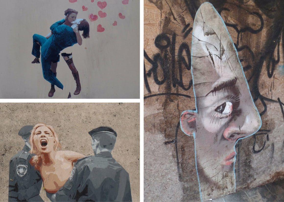 Leuven streetart Diestsestraat