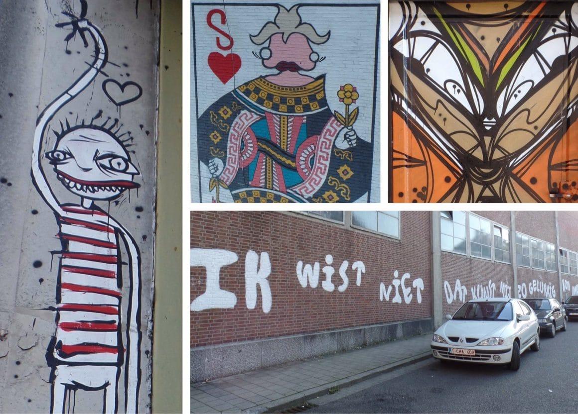 Leuven Mechelsestraat streetart