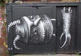 Speuren in en rond Shoreditch: street art