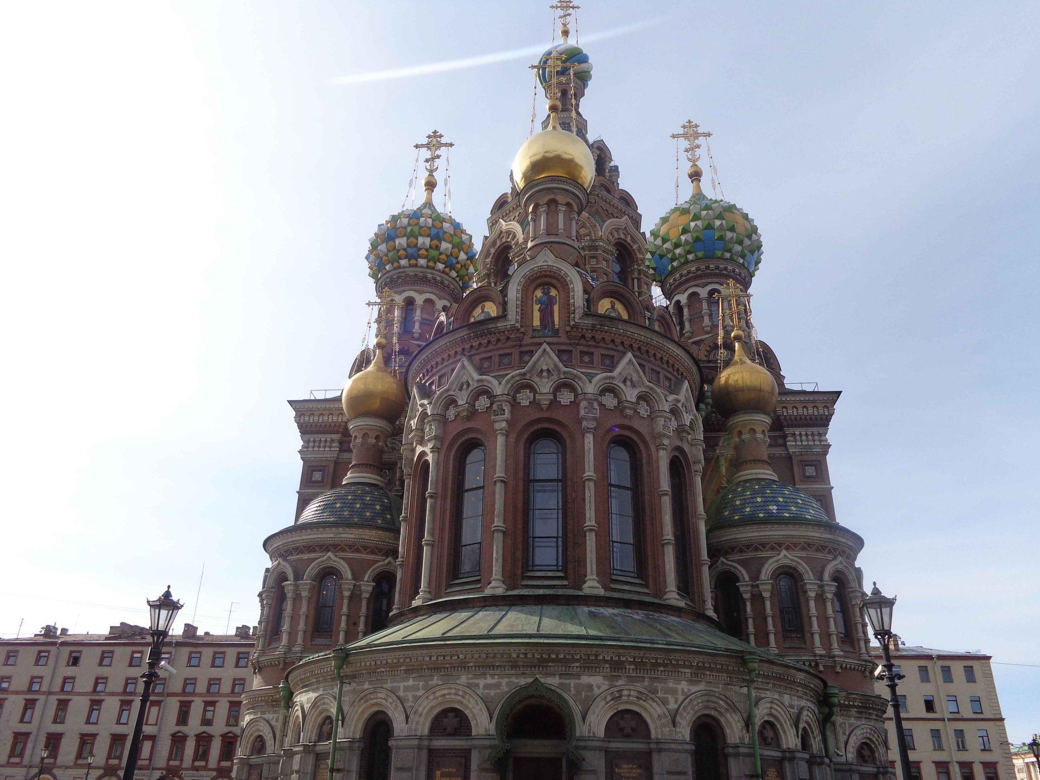 Rusland sint petersburg moskou
