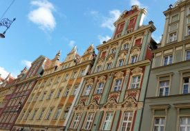 Just another beautiful Polish square: the Rynek in Wroclaw