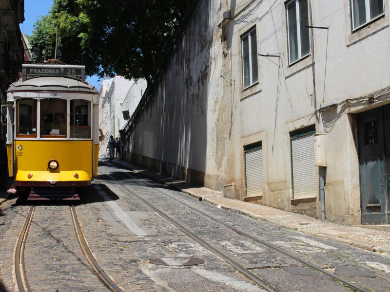 Lissabon alfama tram 28