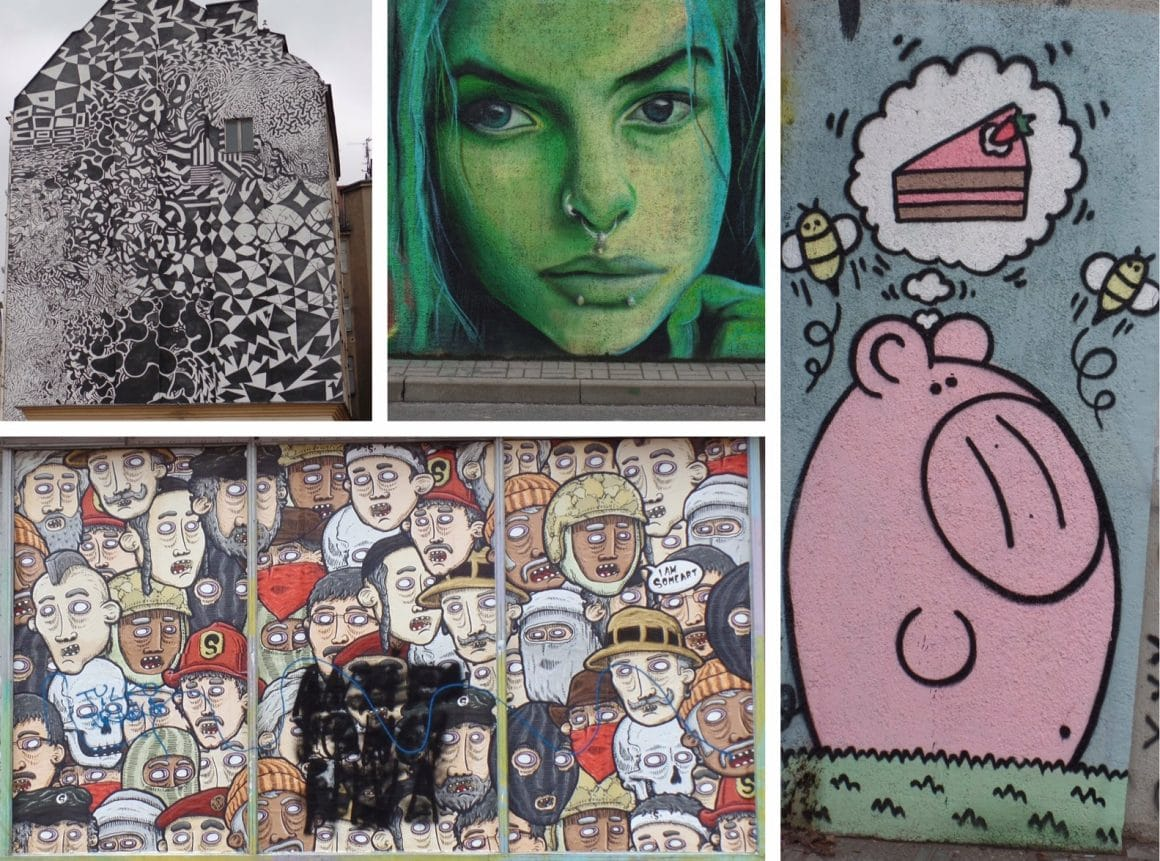 Streetart Polen Poznan
