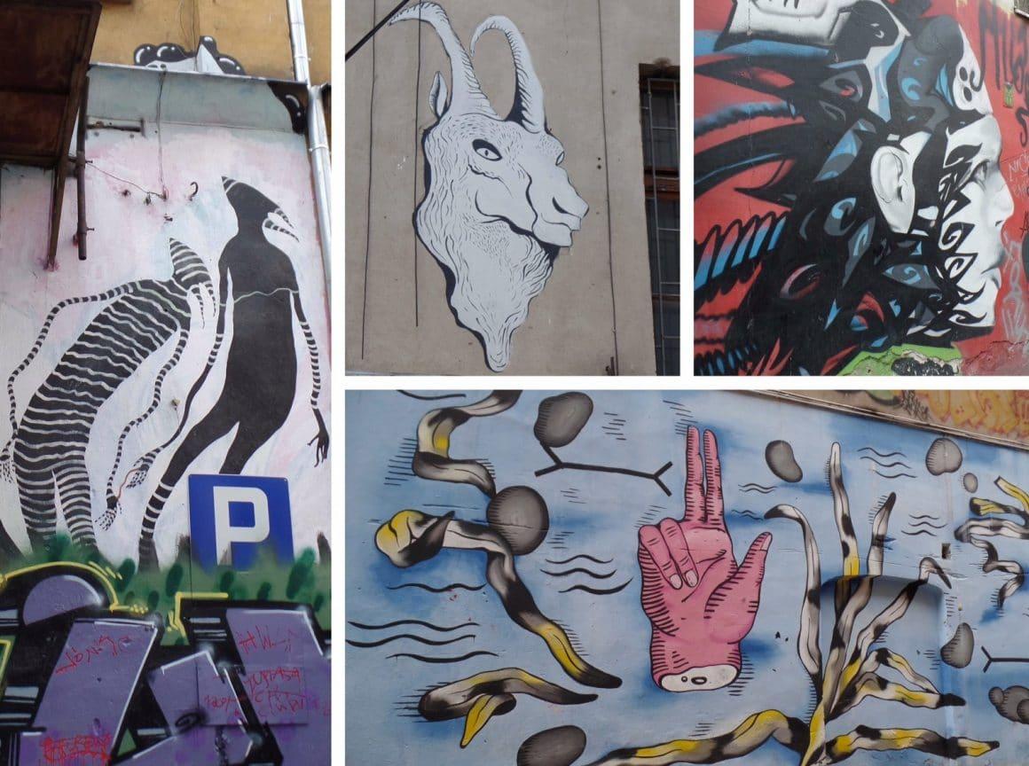 Streetart Wroclaw Ruska Polen