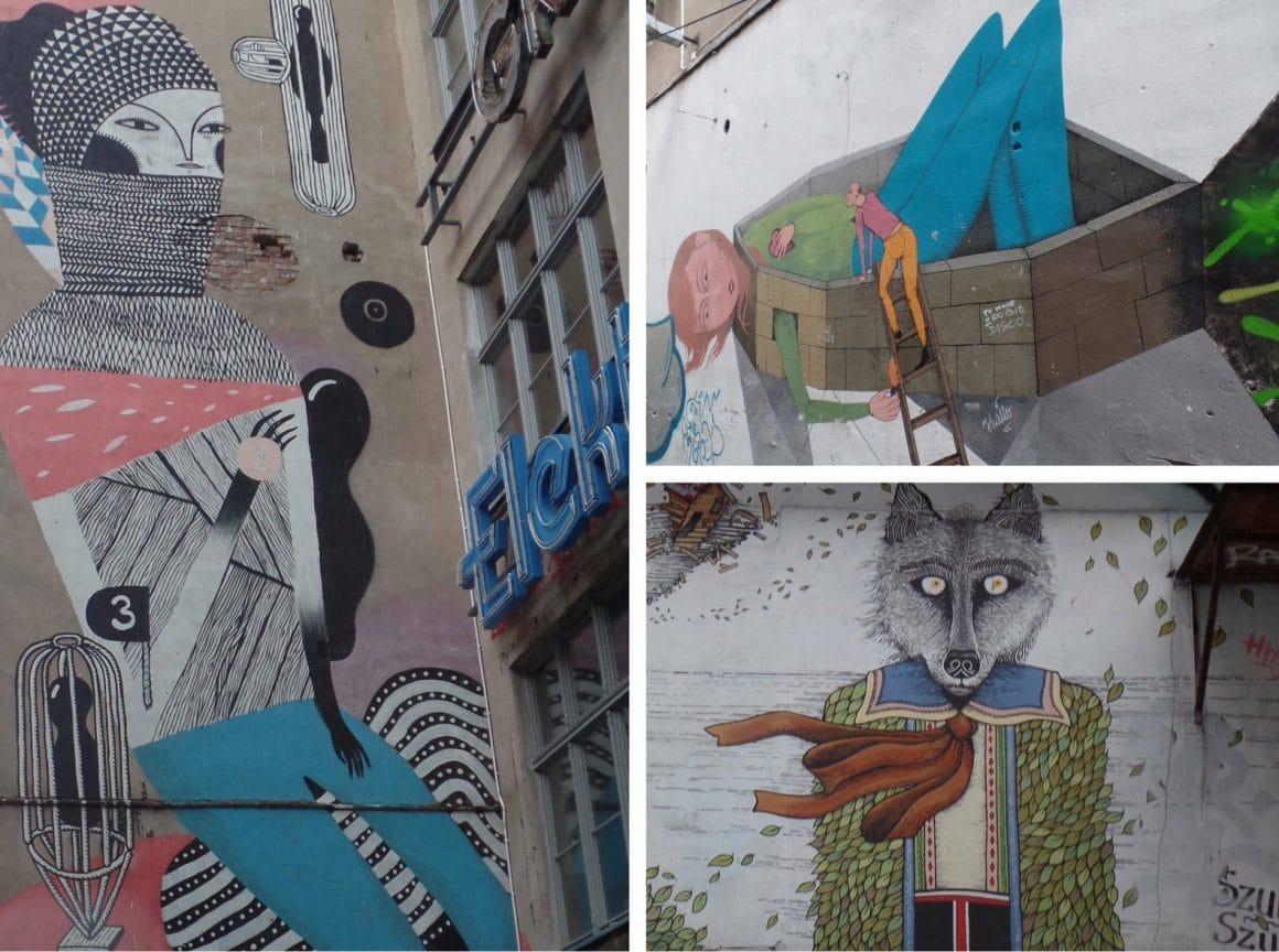 Wroclaw Polen Streetart Ruska