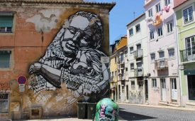 Must do in Lissabon: street art tour
