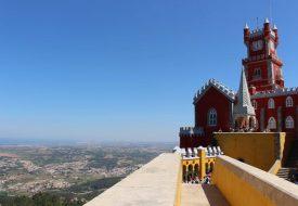 Palácio da Pena: het flamboyante hoogtepunt van Sintra