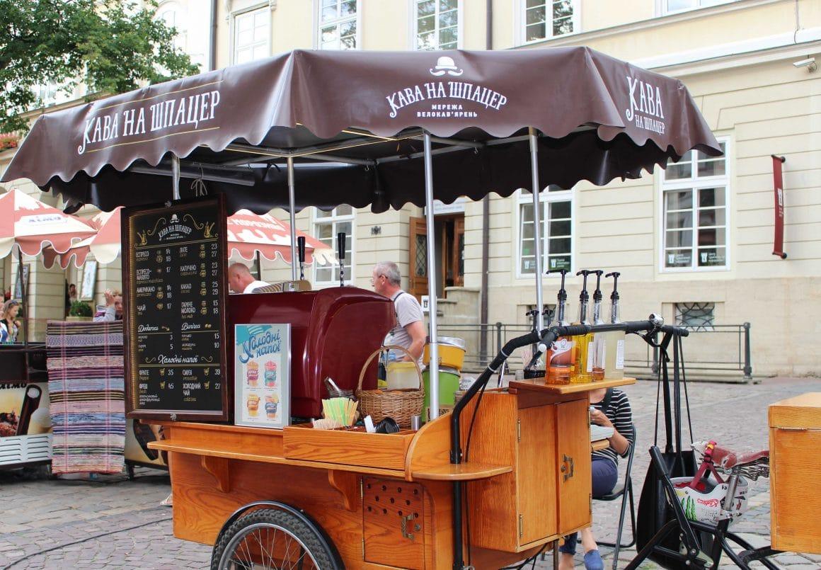 Koffie Lviv Oekraine