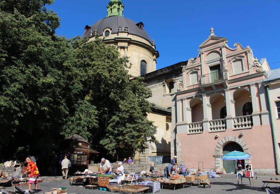Lviv Kerk Oekraine