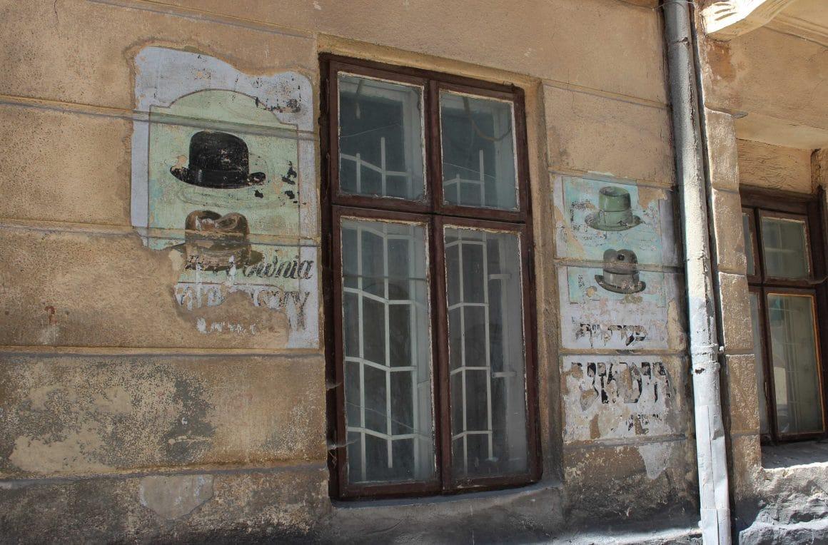 Joods buurt Lviv oekraine