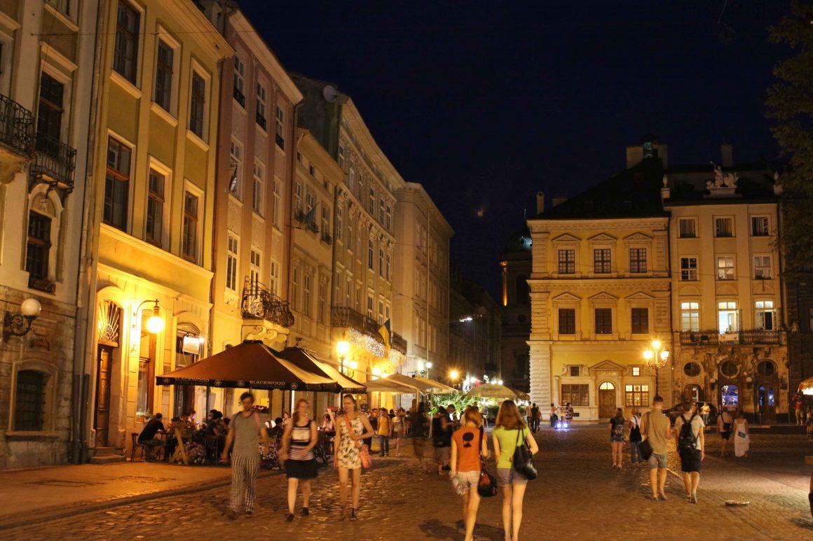 oekraine avond lviv