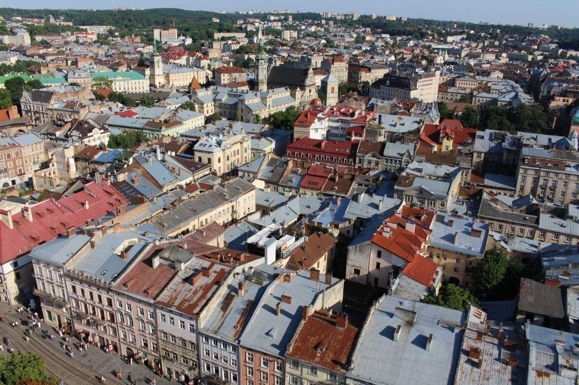 Stadhuis Lviv Oekraine