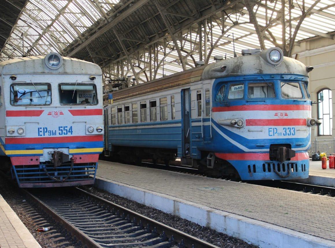 Trains in Ukraine