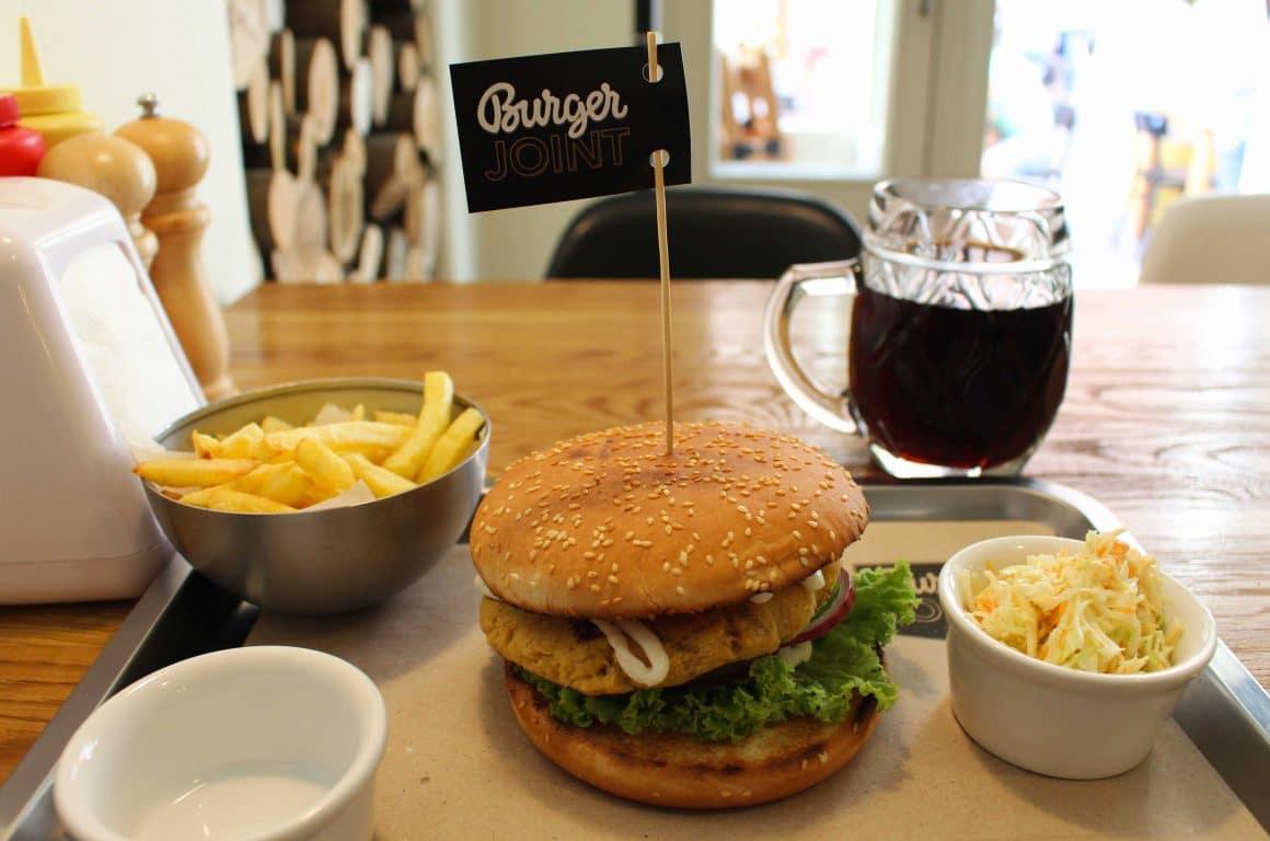 Burgerjoint vegetarische burger