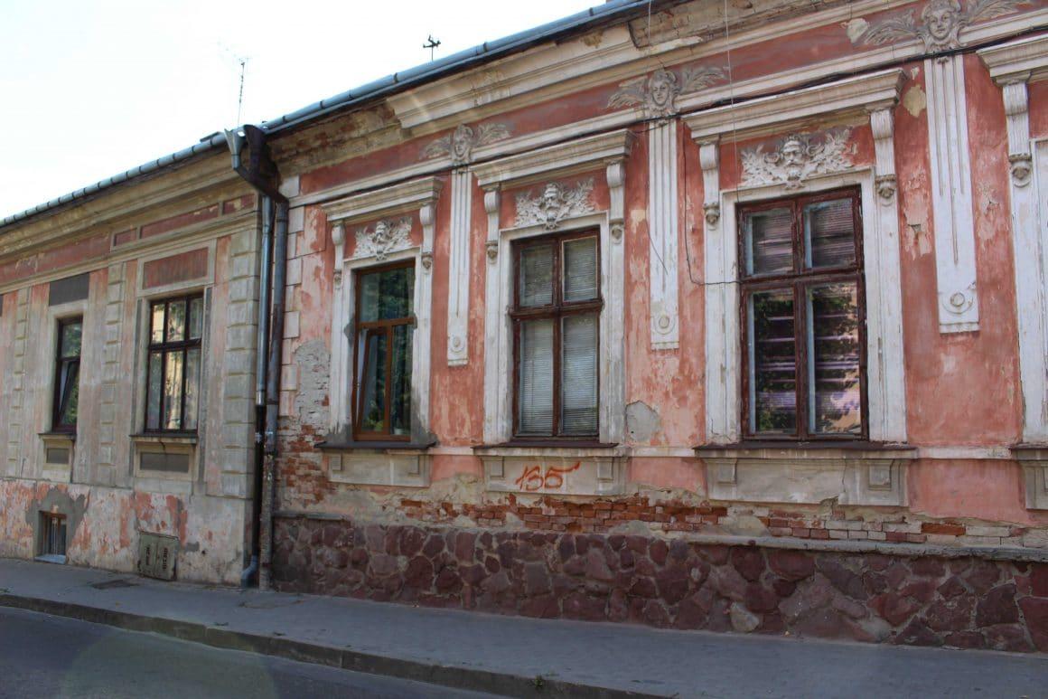 Chernivtsi streets Ukraine