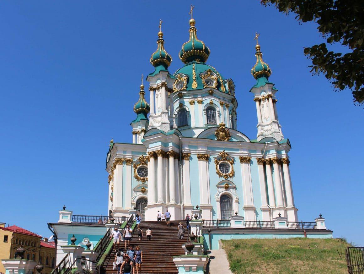 Kiev Podil St Andreaskerk