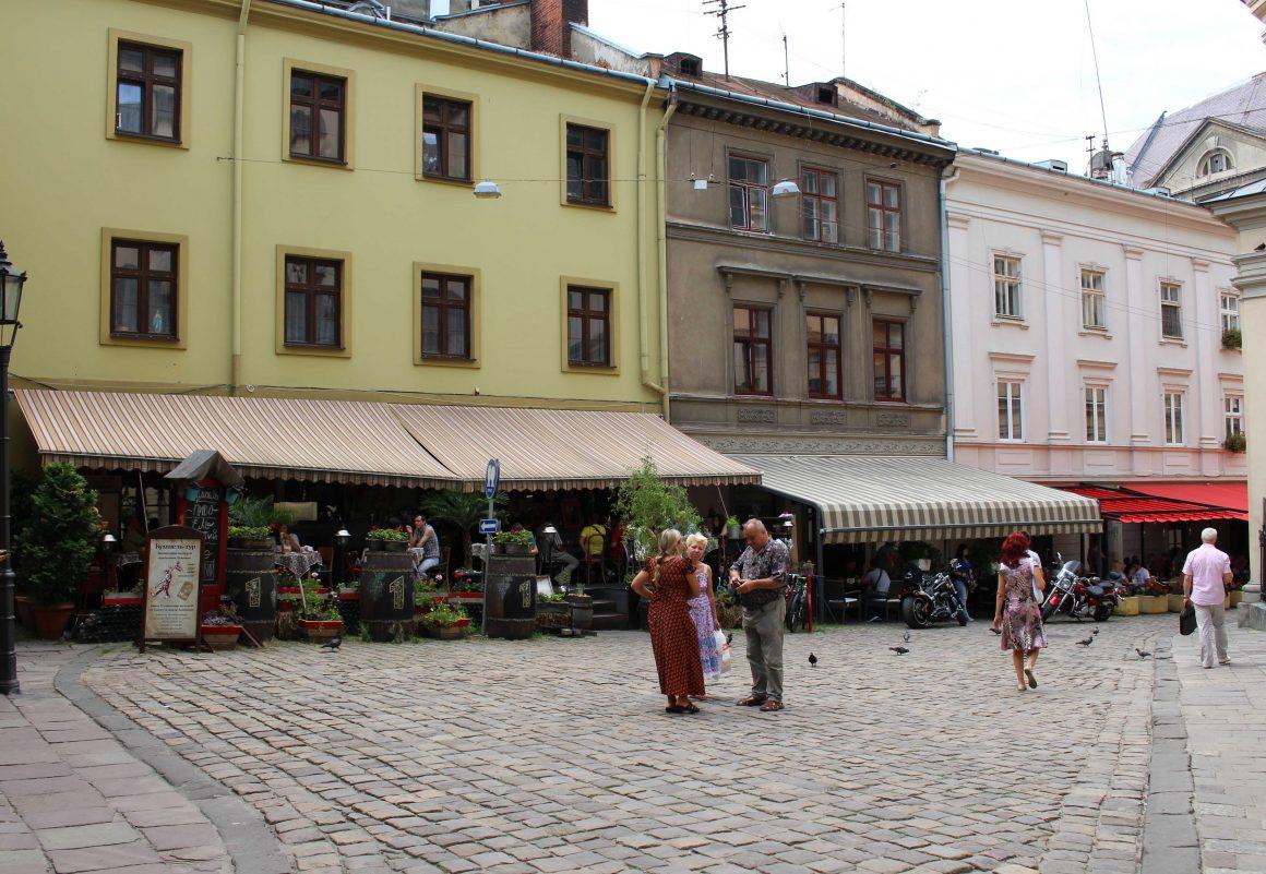 Lviv cafe ukraine