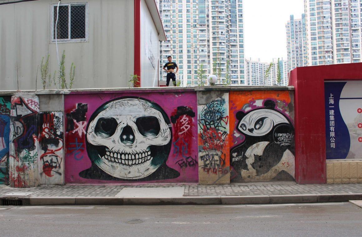 Shanghai China street art