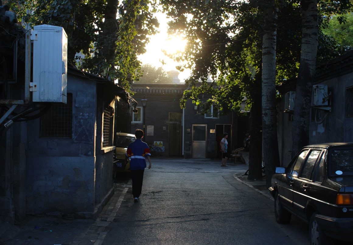 beijing-hutong-zonsondergang