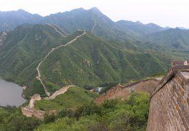 Weg van de massa: hiken op de Chinese Muur bij Huanghuacheng