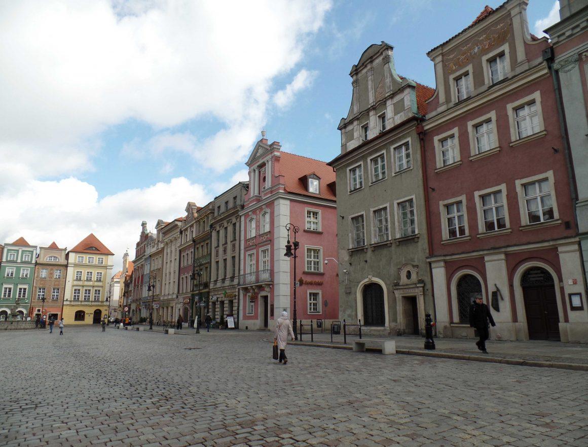 Polen Poznan Stary Rynek
