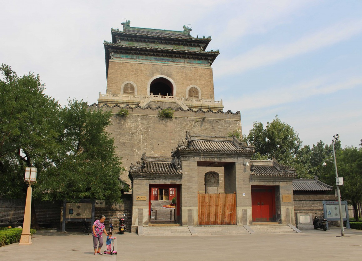 Beijing Drum and Bell tower