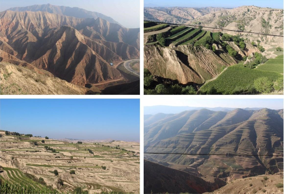 Xiahe China landschappen