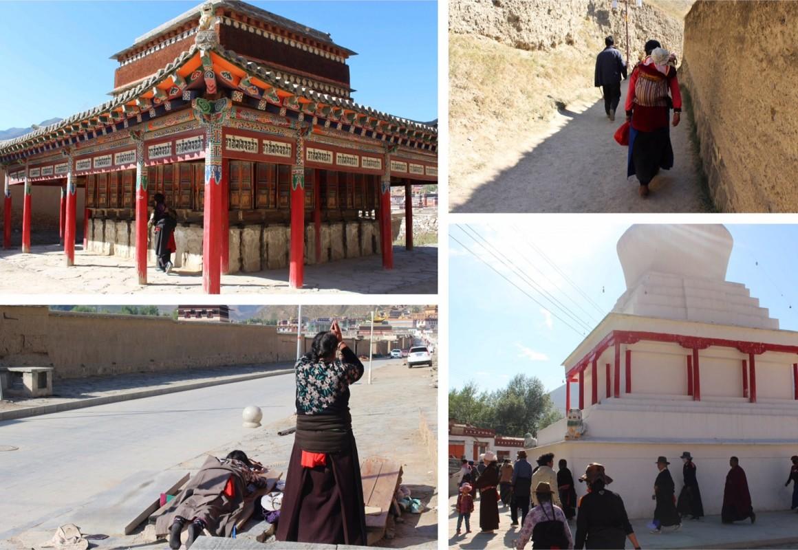 Xiahe China kora