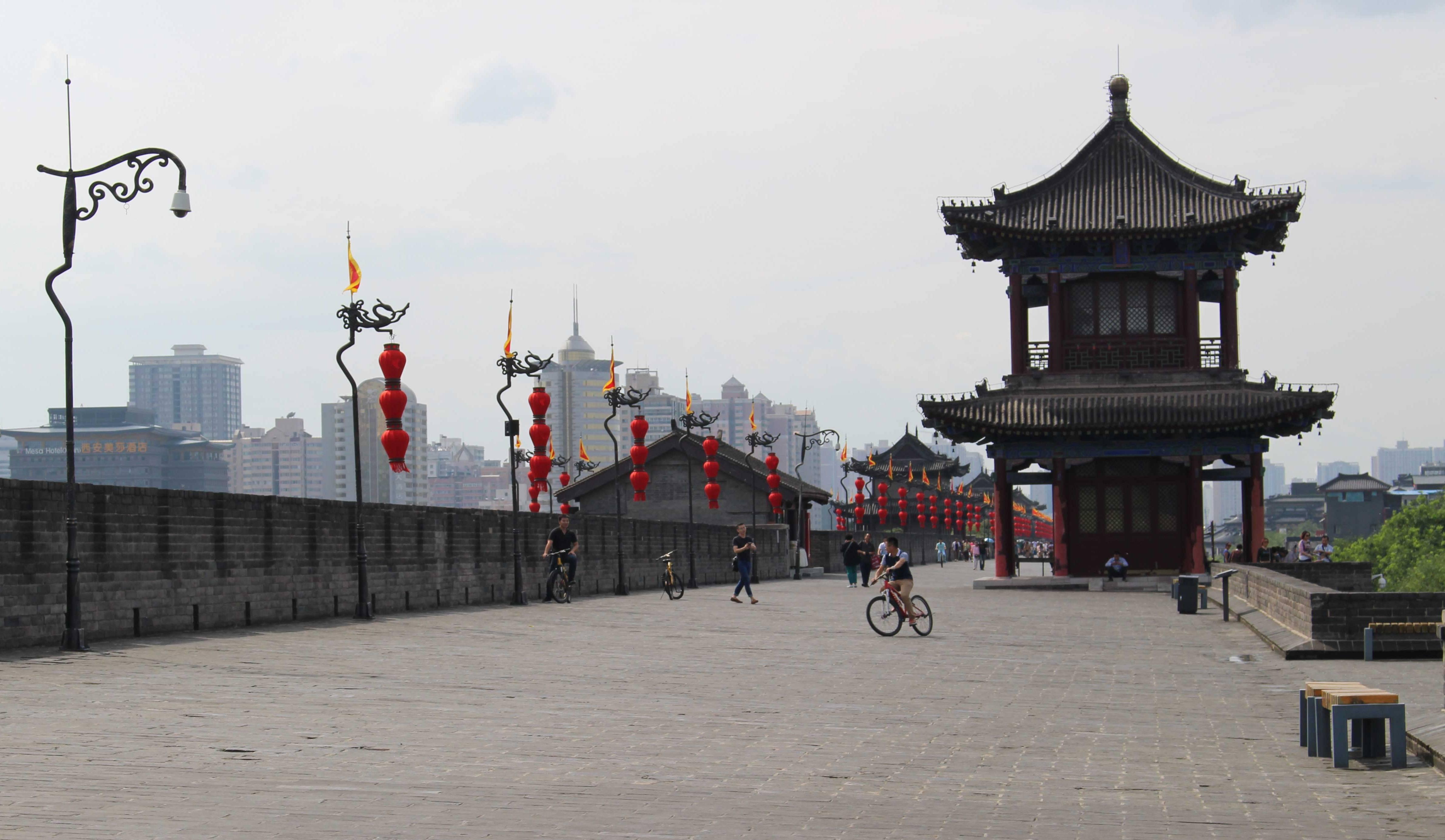 Xian stadsmuur China
