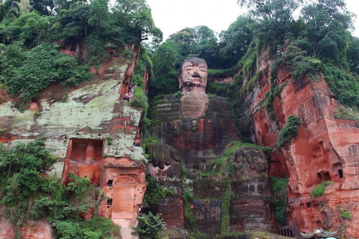Chengdu Leshan Buddha