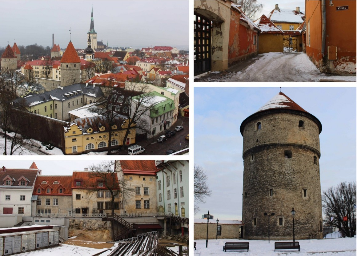 Tallinn Estonia snow