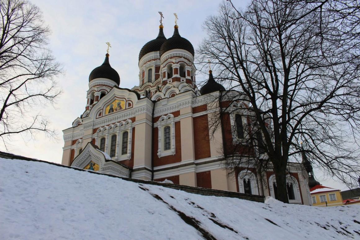 Tallinn Old Town Russian church