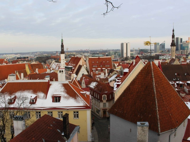 Tallinn viewpoint estonia
