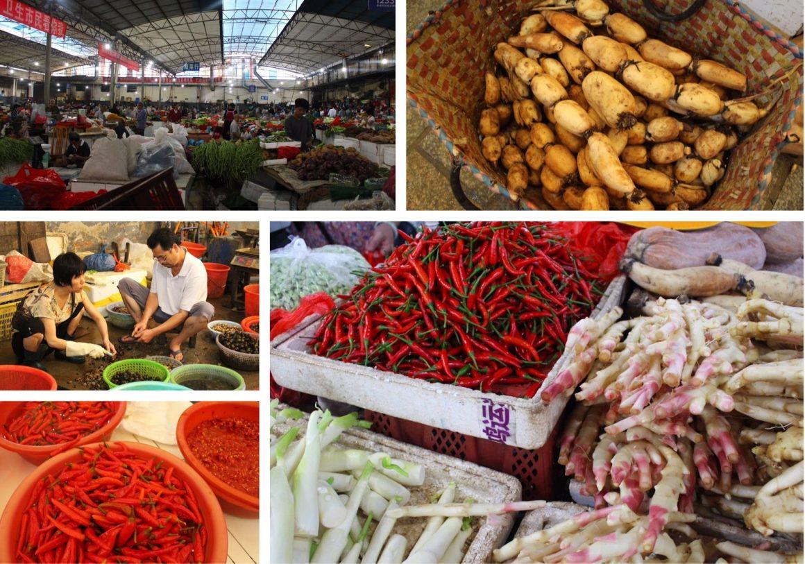 Yangshuo markt kookcursus
