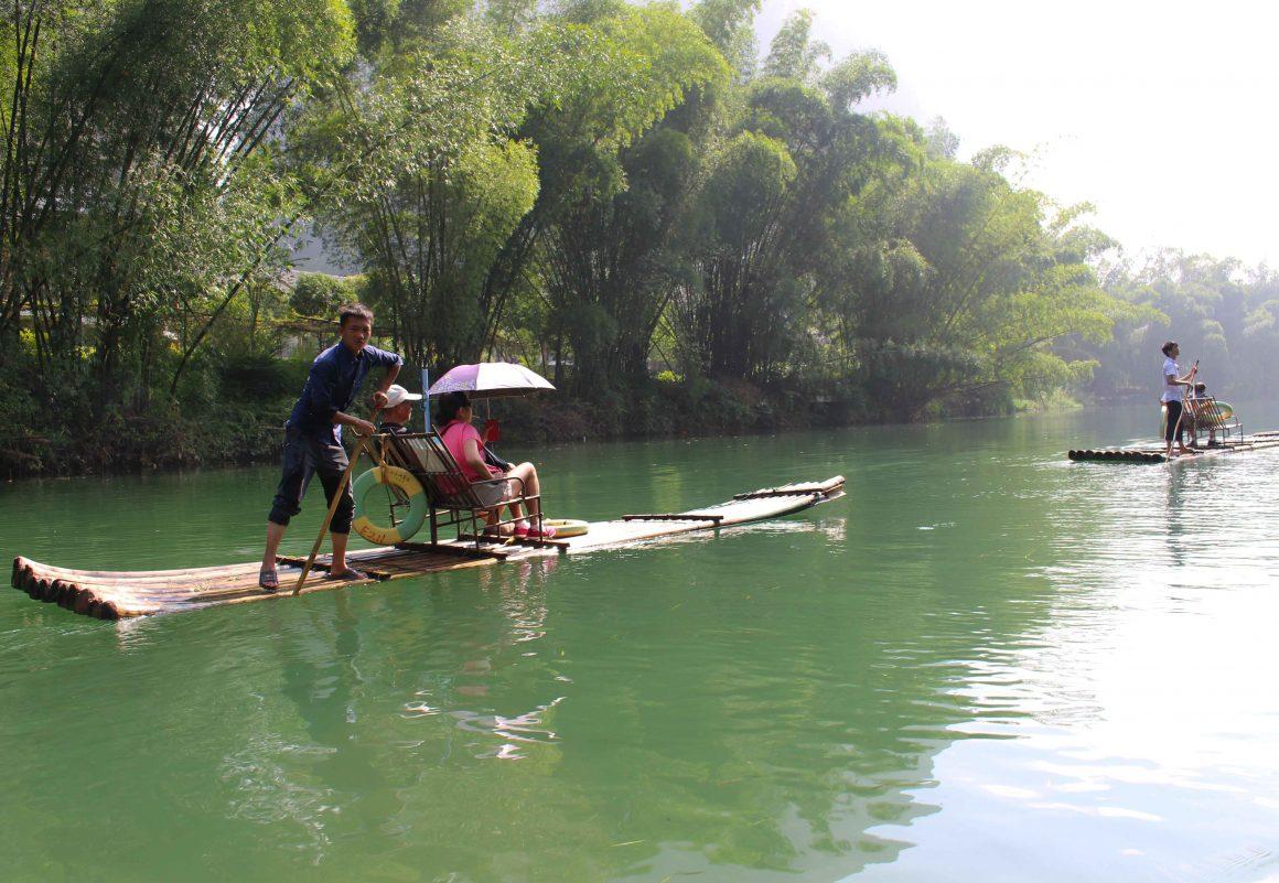 Yangshuo China bamboo