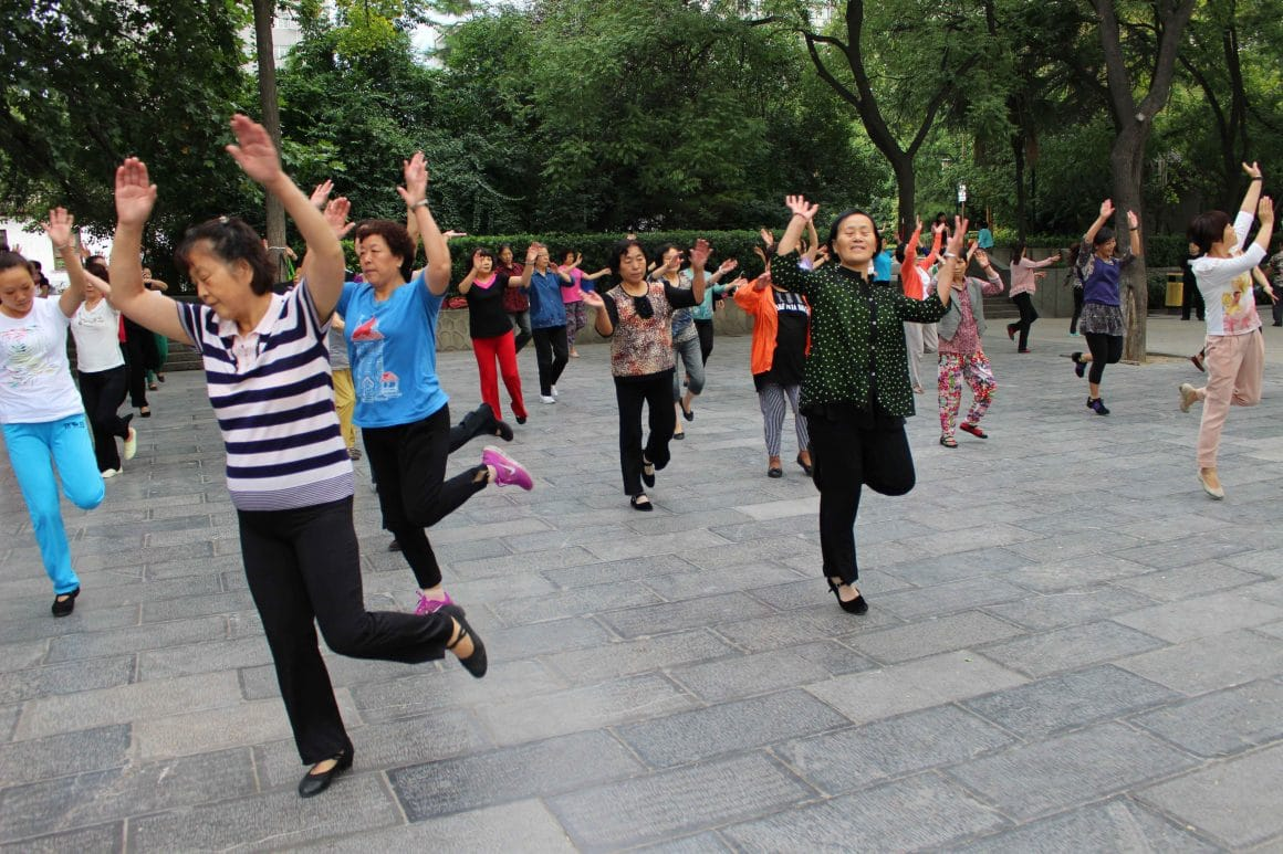 dansen china park