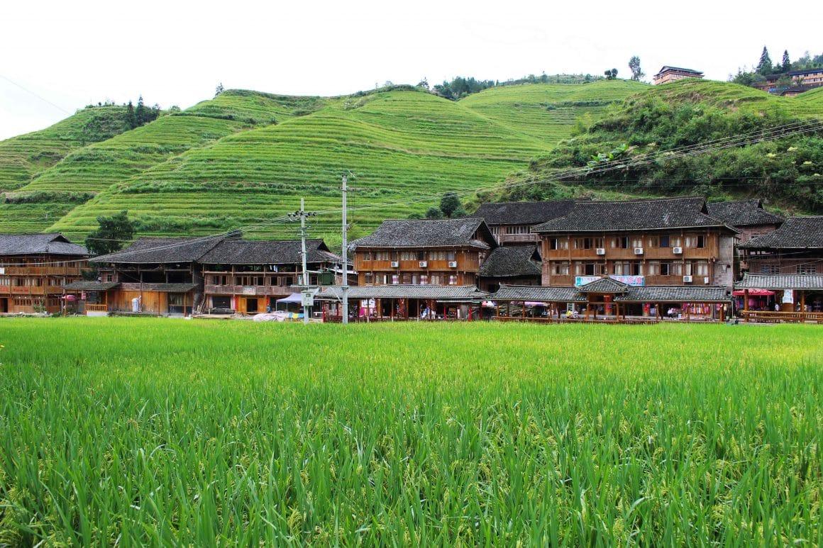 Longji rijstterrassen China