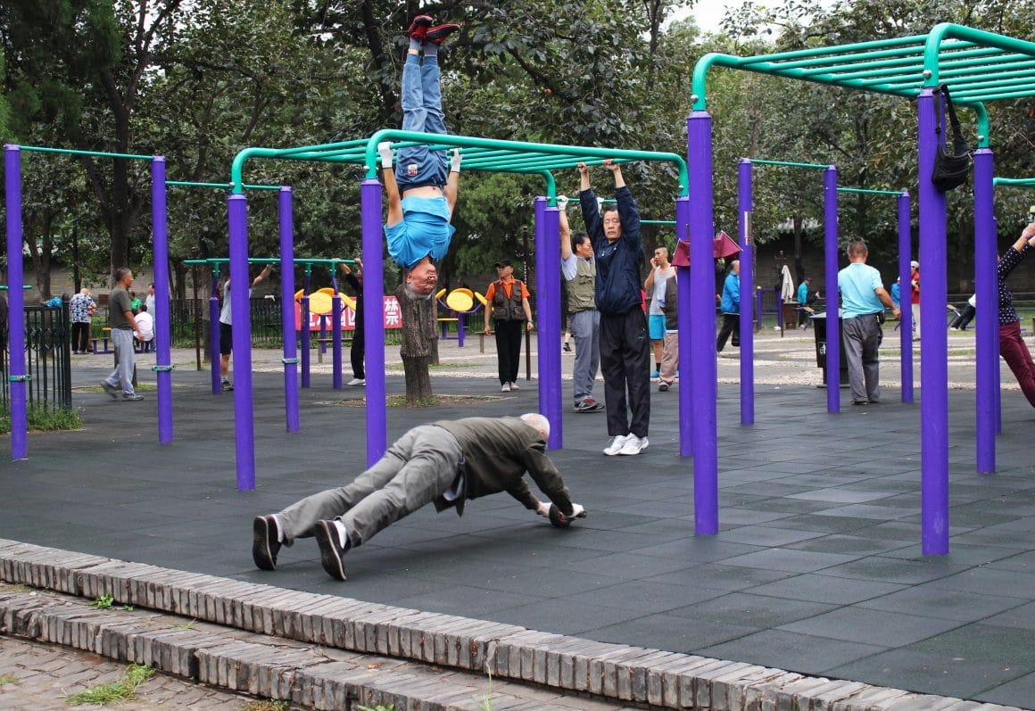 Fitness park China Beijing