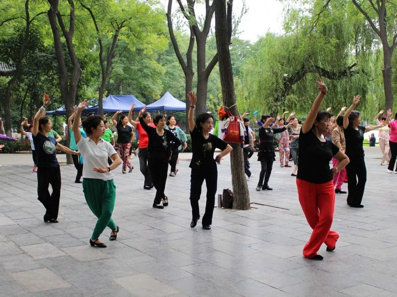 dansen park China Xian